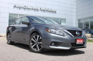 Used 2016 Nissan Altima 2.5 SR ONE OWNER ACCIDENT FREE TRADE WITH ONLY 62354 KMS. NISSAN CERTIFIED PREOWNED! for sale in Toronto, ON