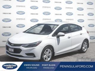 Used 2018 Chevrolet Cruze LT Auto - Bluetooth -  Heated Seats - $118 B/W for sale in Port Elgin, ON