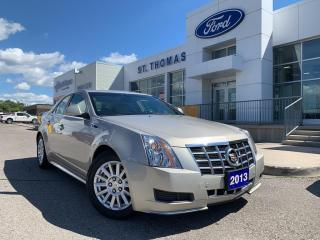 Used 2013 Cadillac CTS CTS Leather/Roof/Winter Tires Included for sale in St Thomas, ON