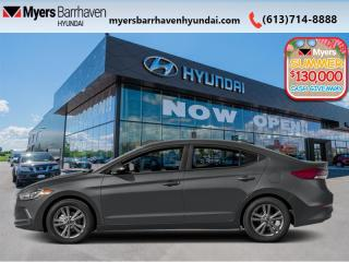 Used 2017 Hyundai Elantra GL  - $115 B/W for sale in Nepean, ON