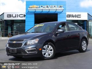 Used 2015 Chevrolet Cruze 1LT - Bluetooth -  Siriusxm for sale in Burlington, ON