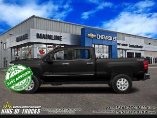 Used 2018 Chevrolet Silverado 2500 HD High Country   Crew   6.6L Duramax   Sunroof   5th for sale in Virden, MB