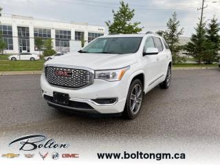 Used 2018 GMC Acadia Denali - Leather Seats -  Cooled Seats - $288 B/W for sale in Bolton, ON