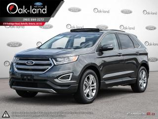 Used 2018 Ford Edge Titanium VOICE ACTIVATED NAVIGATION | MOONROOF | SAFE AND SMART PACKAGE | COLD WEATHER PACKAGE for sale in Oakville, ON