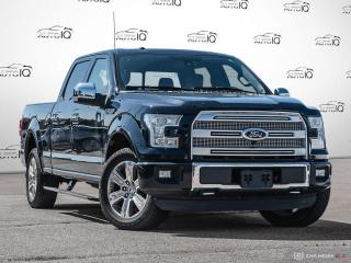 Used 2016 Ford F-150 Platinum ADAPTIVE CRUISE   ACTIVE PARK ASSIST   TWIN PANEL MOONROOF for sale in Oakville, ON