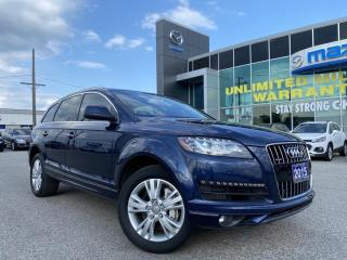 Used 2015 Audi Q7 3.0 TDI Progressiv AWD With Navigation for sale in Chatham, ON