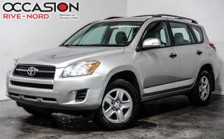 Used 2012 Toyota RAV4 4x4 AUtomatique GAR. 1 AN for sale in Boisbriand, QC