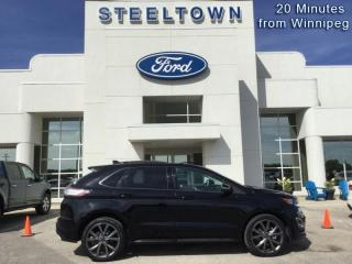 Used 2018 Ford Edge Sport  - Leather Seats -  Bluetooth for sale in Selkirk, MB
