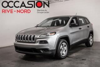 Used 2016 Jeep Cherokee Sport BLUETOOTH+CAM.RECUL for sale in Boisbriand, QC