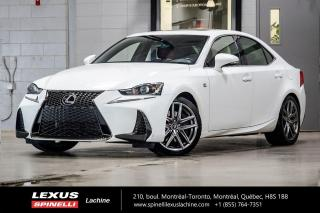 Used 2017 Lexus IS 350 F SPORT II AWD; CUIR TOIT GPS ANGLES MORT AUDIO MOTEUR 3.5L À 306 CHEVEAUX - NAVIGATION - MONITEUR ANGLES MORT - AUDIO MARK LEVINSON - PRÉ-COLLISION for sale in Lachine, QC