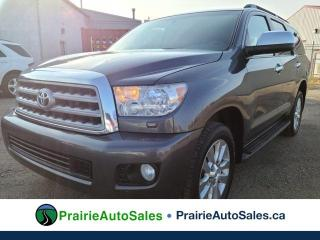 Used 2012 Toyota Sequoia Platinum for sale in Moose Jaw, SK