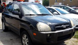 Used 2007 Hyundai Tucson GL 2.7 2WD for sale in St. Catharines, ON