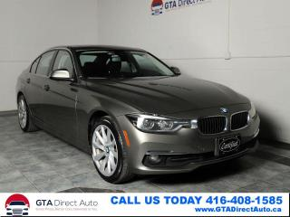 Used 2017 BMW 3 Series 328d xDrive Sport Diesel AWD 360Cam Nav Certified for sale in Toronto, ON