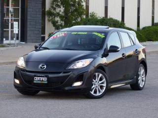 Used 2010 Mazda MAZDA3 2.5 GT,LEATHER,HEATED SEATS,FULL OPTIONS,1-OWNER for sale in Mississauga, ON