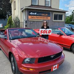 Used 2008 Ford Mustang CONVERTIBLE V6 for sale in Guelph, ON