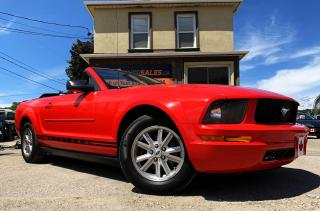 Used 2007 Ford Mustang CONVERTIBLE V6 for sale in Guelph, ON