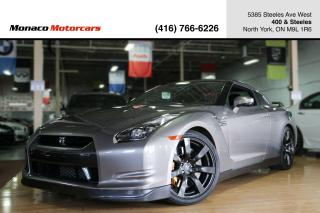 Used 2009 Nissan GT-R PREMIUM - 480HP|NAVI|BOSE|BREMBO for sale in North York, ON
