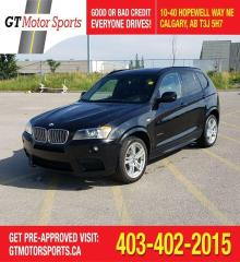 Used 2013 BMW X3 35i AWD  I M Package | $0 DOWN - EVERYONE APPROVED for sale in Calgary, AB