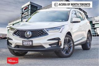 Used 2019 Acura RDX A-Spec at No Accident| 7Yrs Warranty Inc| Apple Ca for sale in Thornhill, ON