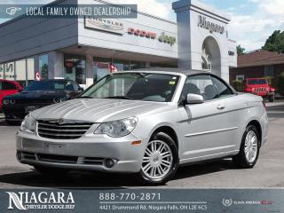 Used 2008 Chrysler Sebring Touring | CONVERTIBLE for sale in Niagara Falls, ON