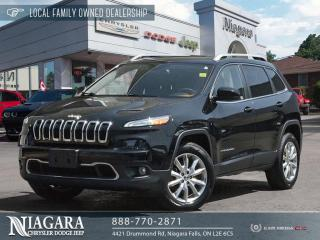 Used 2014 Jeep Cherokee Limited | LOCAL TRADE for sale in Niagara Falls, ON