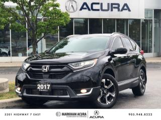 Used 2017 Honda CR-V Touring AWD for sale in Markham, ON