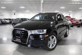 Used 2016 Audi Q3 PANOROOF I LEATHER I PUSH START I POWER TRUNK I BT for sale in Mississauga, ON