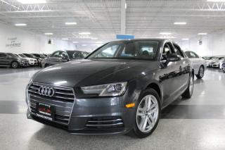 Used 2017 Audi A4 QUATTRO I NO ACCIDENTS I SUNROOF I LEATHER I PUSH START for sale in Mississauga, ON