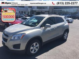 Used 2013 Chevrolet Trax LT  LT, BLUETOOTH, CRUISE, ALLOY WHEELS, CERTIFIED! for sale in Ottawa, ON