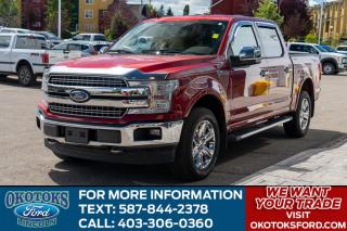 Used 2019 Ford F-150 Lariat 502A/TECH PKG/20' WHEELS/HTD S WHEEL/HTD-COOLED SEATS for sale in Okotoks, AB