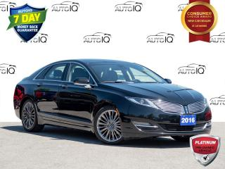 Used 2016 Lincoln MKZ MKZ RESERVE | Handling Package | Tech Package | Panoramic Roof | 3.7 L V6 for sale in St Catharines, ON