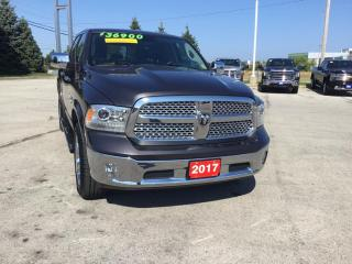 Used 2017 RAM 1500 Laramie 1 Owner Accident Free for sale in Grimsby, ON