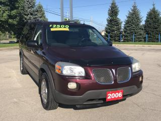 Used 2006 Pontiac Montana Sv6 FWD BEING SOLD AS IS for sale in Grimsby, ON