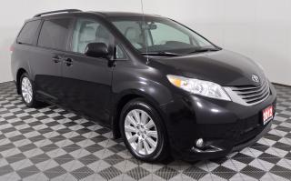 Used 2012 Toyota Sienna XLE 7 Passenger LEATHER, RECLINING 2ND ROW SEATS, 7-PASSENGER, BACKUP CAMERA for sale in Huntsville, ON