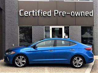 Used 2017 Hyundai Elantra LIMITED w/ NAVI / LEATHER / SUNROOF for sale in Calgary, AB