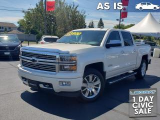 Used 2015 Chevrolet Silverado 1500 High Country AS TRADED | COOLED SEATS for sale in Burlington, ON