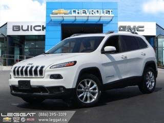 Used 2014 Jeep Cherokee Limited PANORAMIC SUNROOF | NAVIGATION for sale in Burlington, ON