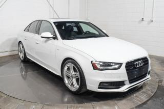 Used 2015 Audi A4 TECHNIK S-LINE QUATTRO CUIR TOIT NAV for sale in St-Hubert, QC