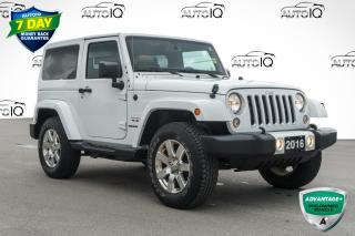 Used 2016 Jeep Wrangler Sahara VERY CLEAN LOCAL TRADE for sale in Innisfil, ON