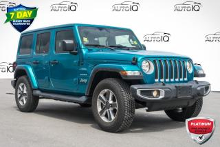 Used 2019 Jeep Wrangler Unlimited Sahara VERY CLEAN LOW MILEAGE CAR for sale in Innisfil, ON