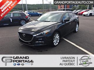 Used 2017 Mazda MAZDA3 Berline 4 portes, boîte manuelle, GT for sale in Rivière-Du-Loup, QC