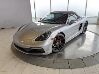 Used 2018 Porsche Boxster 718 GTS | CPO | Ext. Warranty | Manual | Premium PLUS for sale in Edmonton, AB