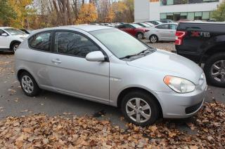 Used 2008 Hyundai Accent Hayon 3 portes, boîte manuelle, L for sale in St-Constant, QC