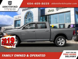 New 2019 RAM 1500 Classic SLT  - Diesel Engine - Sunroof - $312 B/W for sale in Abbotsford, BC
