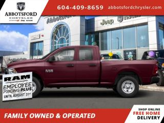 New 2020 RAM 1500 Classic Express  - $241 B/W for sale in Abbotsford, BC