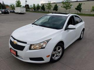 Used 2011 Chevrolet Cruze Automatic, 4 Door, Sunroof, 3/Y Warranty Available for sale in Toronto, ON
