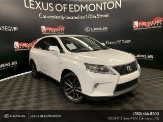 Used 2013 Lexus RX 350 F Sport for sale in Edmonton, AB