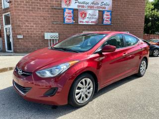 Used 2013 Hyundai Elantra GL/1.8L/6 SPEED/ONE OWNER/ SAFETY+WARRANTY INCL for sale in Cambridge, ON