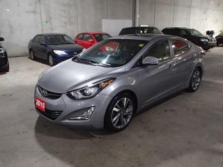 Used 2015 Hyundai Elantra LTD NAVI *** FREE WINTER TIRES & RIMS INC!!! *** for sale in Nepean, ON
