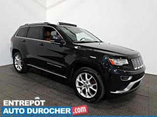 Used 2016 Jeep Grand Cherokee Summit AWD NAVIGATION - Toit Ouvrant - A/C - Cuir for sale in Laval, QC